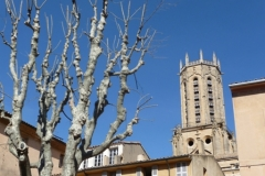 Aix Cathedral Belltower