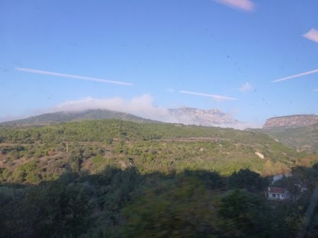 Through the Clouds to Montserrat