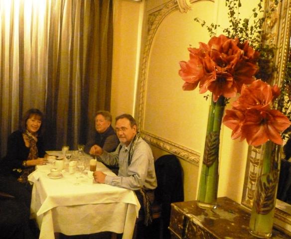 Celebrating Paris with Friends