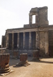 Pompeii - a taste of ancient history.