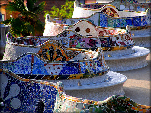 Gaud'is fantastical playground, Park Guell