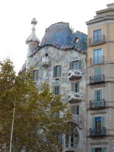 Gaudi's Casa Battlo is a delight by day or night