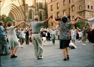 A Sunday Sardana in Barcelona