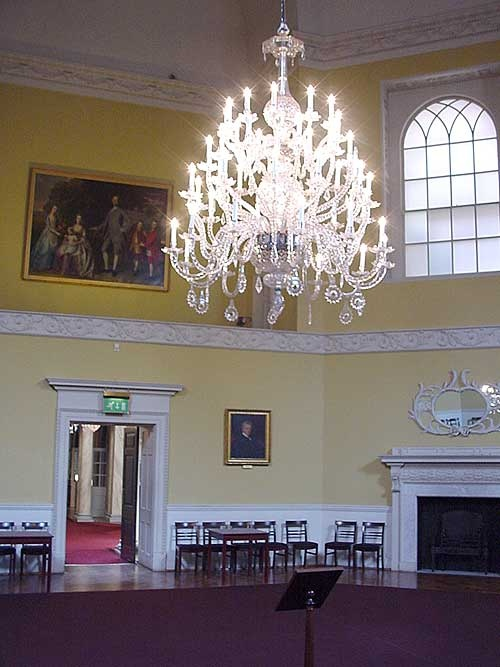 The elegant Assembly Rooms of Bath - what better place to enjoy a concert?