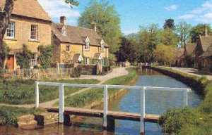 A peaceful day in a lovely Cotswold village