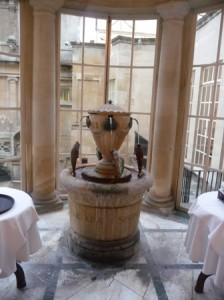 Bath's elegant Pump Room - a taste of the waters?