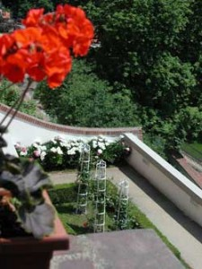 Prague's gardeners step up to the challenge presented by its steep hills.
