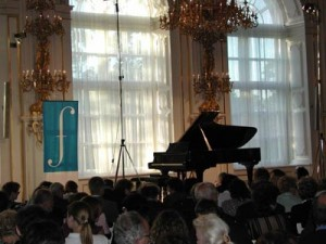 The Prague Spring Festival features concerts in lavish indoor settings as well as other more informal outdoor venues
