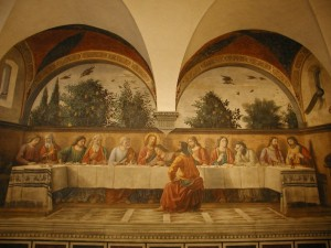 One of Florence's exquisite Last Suppers