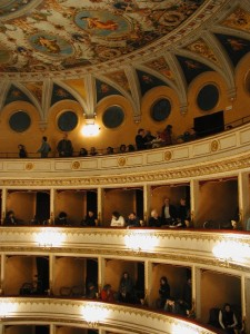 Orvieto's historic Teatro Mancinelli is an elegant venue for jazz