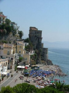 The fabled Amalfi Coast offers one picture-postcard view after another.