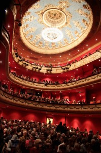 The intimate Jeu de Paume theater is an historic treasure. Photo by Agnes Mellon