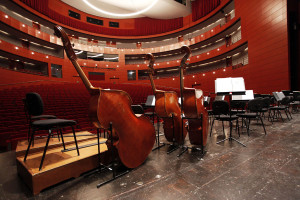 Ready for a concert at the Grand Theatre Photo by Caroline Doutre