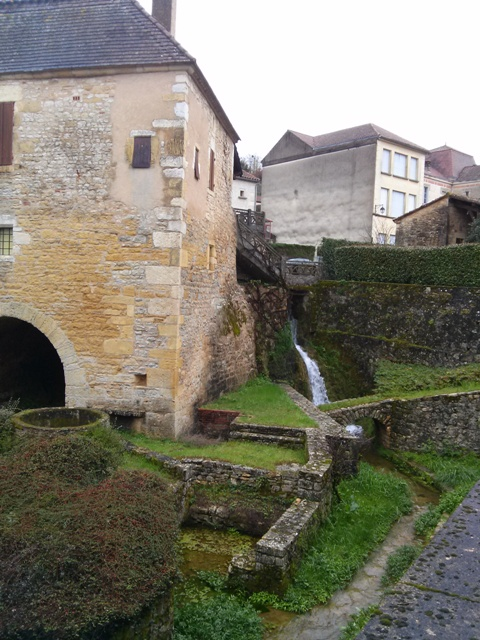 A Tiered Village in Southwest France