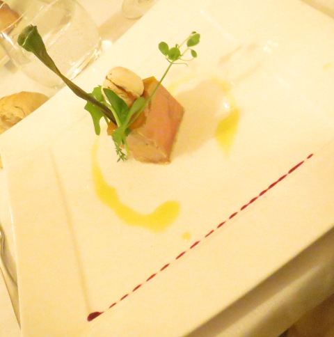 04041502 dinner foie gras first