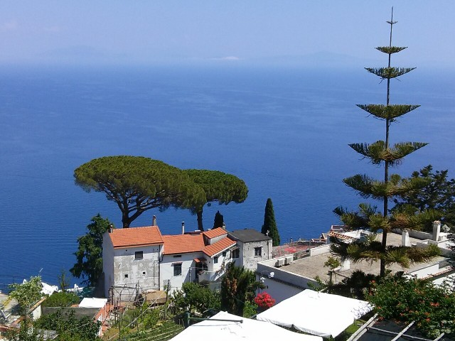 From Ravello to Vesuvius – on High in Italy!