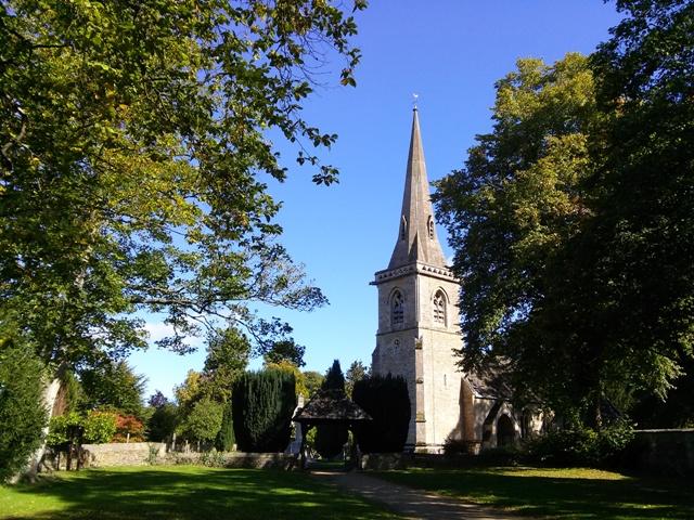 09241502 pretty church in a bit bigger town