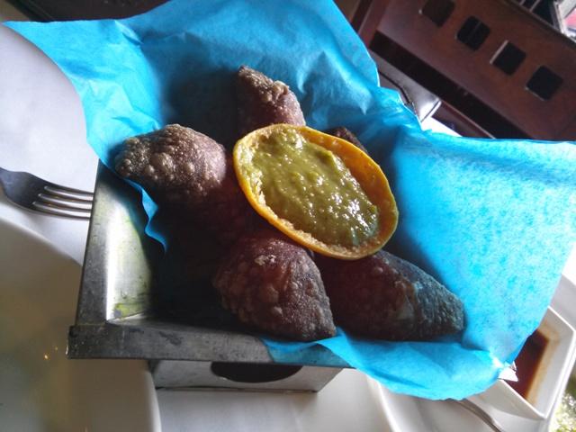 10241504 delish blue corn quesadilla with squash blossom