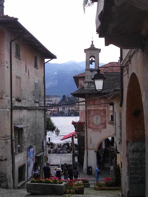 A Frescoed Lakeside Village