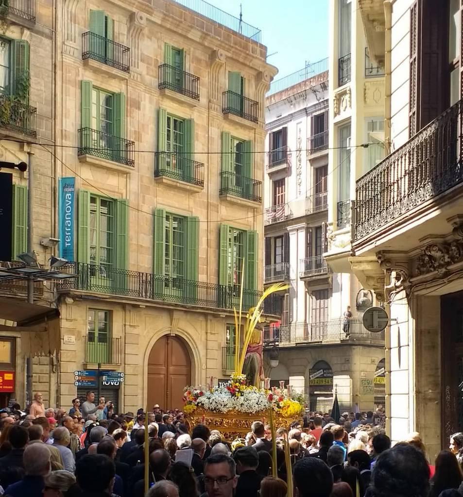 Palm Sunday in Barcelona
