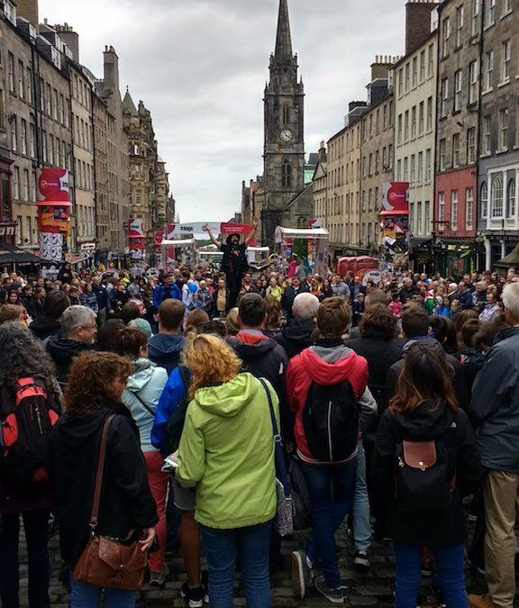 Festival Time in Edinburgh